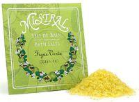 Mistral Green Fig Bath Salt Packet