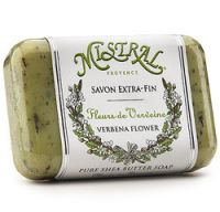 Mistral Verbena Flower French Shea Butter Soap