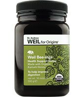Origins Weil Bee-ings Organic Health Support Honey Made, Improve Digestion