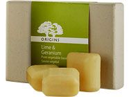 Origins Lime and Geranium Mini Guest Soap Set