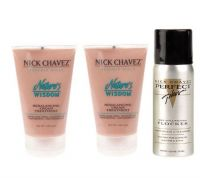 Nick Chavez Nature's Wisdom Rebalancing Cream Duo w/Mini Flocker