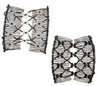 Hair Hugger Set of 2 Beaded Hair Combs