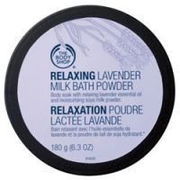 The Body Shop Relaxing Lavender Milk Bath Powder