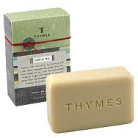 Thymes Green Tea Triple Milled Bar Soap
