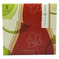 Thymes Fig Leaf and Cassis Foaming Milk Bath Powder Envelope