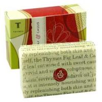 Thymes Fig Leaf and Cassis Triple Milled Bar Soap