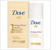 Dove Energy Glow Daily Moisturizer with Subtle Self Tanners for Medium Skin Tones