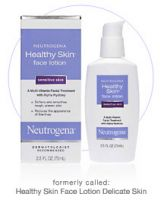 Neutrogena Healthy Skin Face Lotion for Sensitive Skin