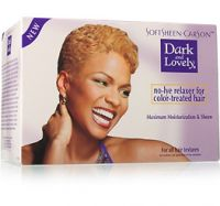 Soft Sheen Carson Dark & Lovely Relaxer No-Lye Relaxer Color-Treated Hair