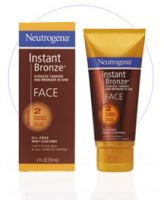 Neutrogena Instant Bronze Sunless Tanner and Bronzer in One for the Face