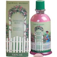 Caswell-Massey Damask Rose Foaming Bath Gel