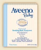 Aveeno Baby Soothing Bath Treatment Single Use Packets