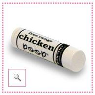 Simone Chickenbone Chicken Poop Lip Balm