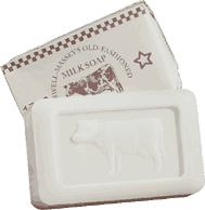 Caswell-Massey Old Fashioned Mini Milk Bar Soap