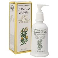 Caswell-Massey Almond & Aloe Liquid Soap for Hands & Body