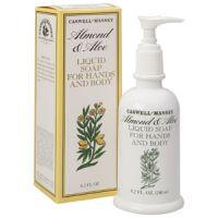 Caswell-Massey Almond & Aloe Liquid Soap for Hands & Body