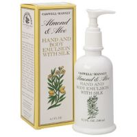Caswell-Massey Almond & Aloe Hand & Body Emulsion with Silk