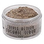 Sonya Dakar Triple Action Organic Scrub - Clear