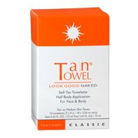 TanTowel Half Body Classic Self-Tan Towelettes