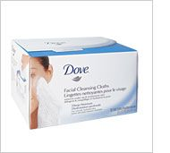 Dove Deep Moisture Facial Cleansing Cloths