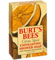 Burt's Bees Citrus Spice Exfoliating Shower Soap