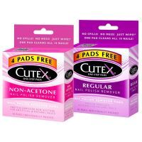 Cutex Essential Care Advanced One Step Nail Polish Remover Pads