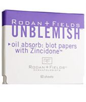 Rodan + Fields Unblemish Blot Papers with Zincidone