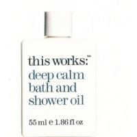 This Works Deep Calm Bath and Shower Oil