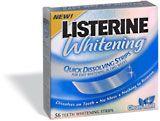 Listerine Whitening Quick Dissolving Strips
