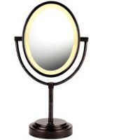 Conair Oiled Bronze Double-Sided Illuminated Mirror