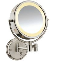 Conair Double Sided Lighted Wall-Mount Mirror