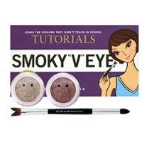 Bare Escentuals Tutorials Smokey V Eyes II