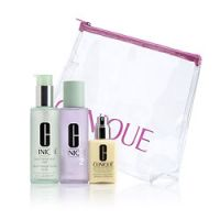 Clinique 3-Step Kit with Facial Soap - Very Dry to Dry and Dry Combination Skin Types