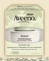 Aveeno Positively Radiant Anti Wrinkle Cream