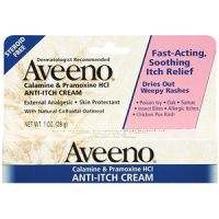 Aveeno Calamine and Pramoxine HCl Anti Itch Cream