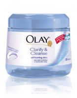 Olay Clarify and Cleanse Self Foaming Discs