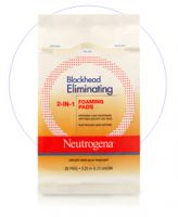 Neutrogena Blackhead Eliminating 2-in-1 Foaming Pads