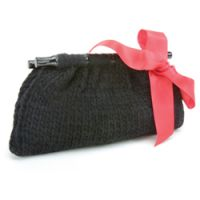 Lola 100% Wool Hand-Knit Clutch Bag