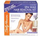 Sally Hansen Lavender Spa Body Wax Hair Removal Kit