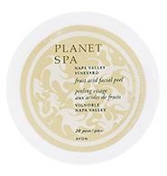 Avon PLANET SPA Napa Valley Vineyard Fruit Acid Facial Peel