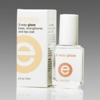 Essie Three Way Glaze Multi-Use Base, Strengthener and Top Coat