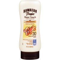 Hawaiian Tropic Sheer Touch Ultra Radiance Lotion Sunscreen Broad Spectrum SPF 15
