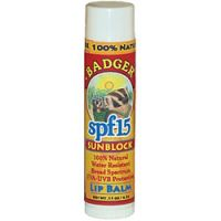 Badger Sun Block Lip Balm