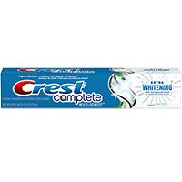 Crest Complete Multi-Benefit Extra Whitening with Tartar Protection - Clean Mint