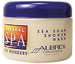 Aubrey Organics Natural Spa Sea Wonders Sea Soap Shower Wash