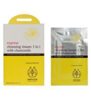 Apivita Express Cleansing Tissues 3 in 1