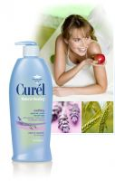 Curel Natural Healing Soothing Lotion with Lavender, Chamomile, and Oatmeal Extracts Moisture Lotion
