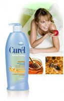 Curel Natural Healing Soothing Lotion with Honey, Vanilla and Shea Butter Extracts Moisture Lotion