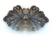 Dominique Duval Vintage Butterfly Barrette