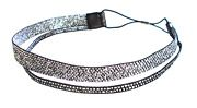 Dominique Duval Double Strap Beaded Headband